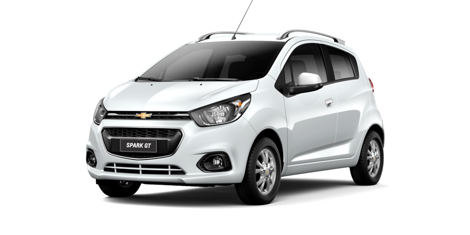 Chevrolet Spark GT - Color Blanco de tu City Car