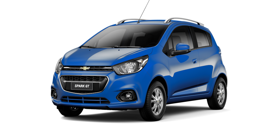Chevrolet Spark GT - Color Azul de tu City Car