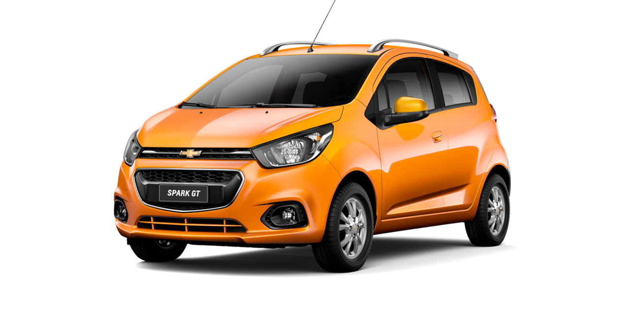 Chevrolet Spark GT - Color Naranja de tu City Car