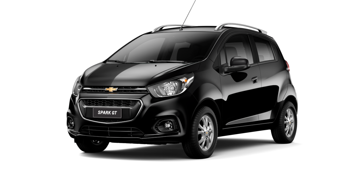 Chevrolet Spark GT - Color Negro de tu City Car