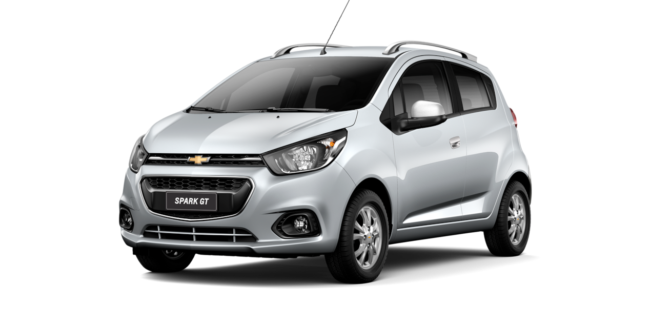 Chevrolet Spark GT - Color Plata de tu City Car