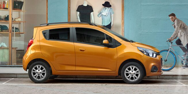 Chevrolet Spark GT - Lateral de tu City Car