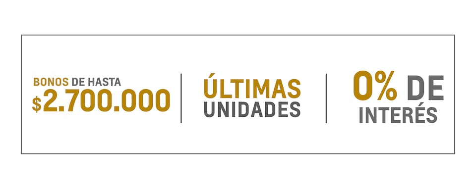 Chverolet Oportunidades - Ultimas Unidades
