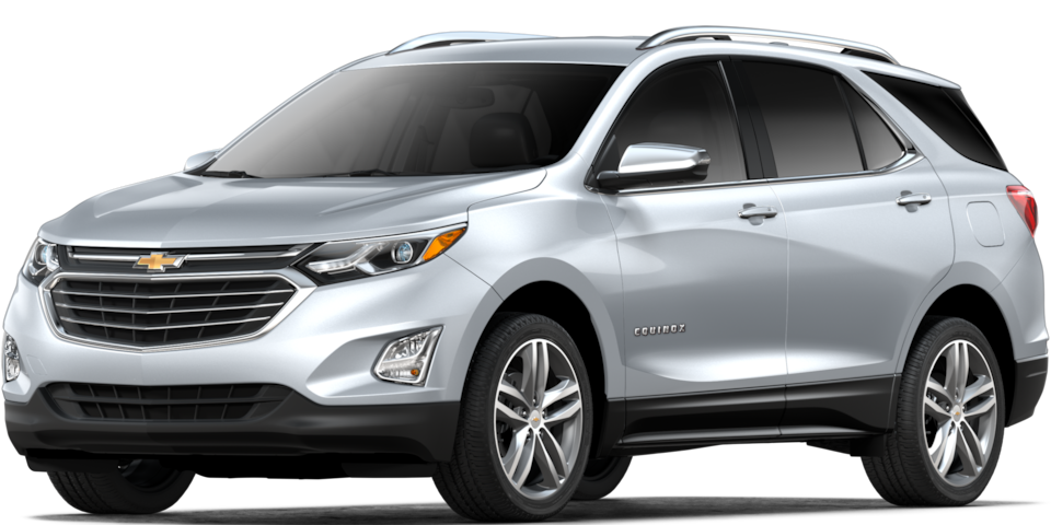 Chevrolet Equinox - Color Plata de tu SUV