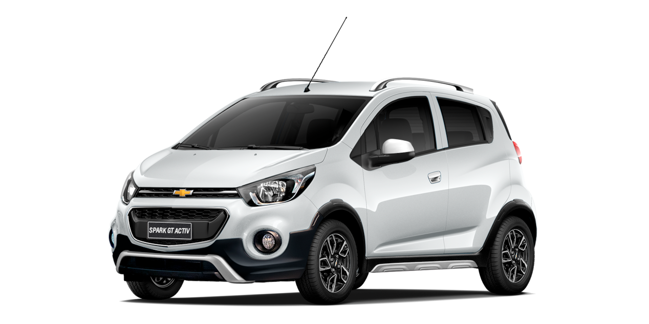 Chevrolet Spark GT Activ - Color Blanco de tu Crossover