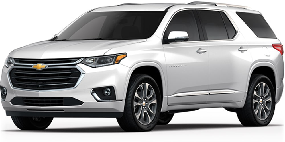 Chevrolet Traverse - Tu Crossover Color Blanco+E3:E7