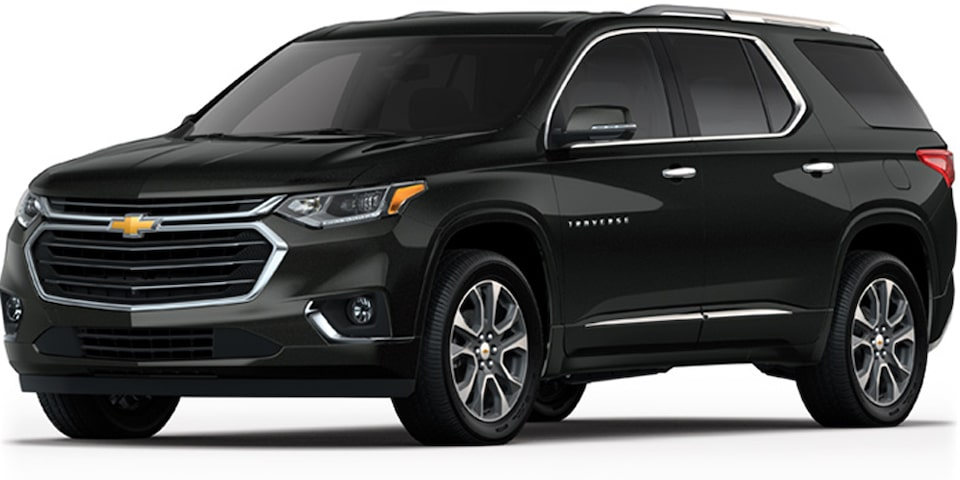 Chevrolet Traverse - Tu Crossover Color Negro