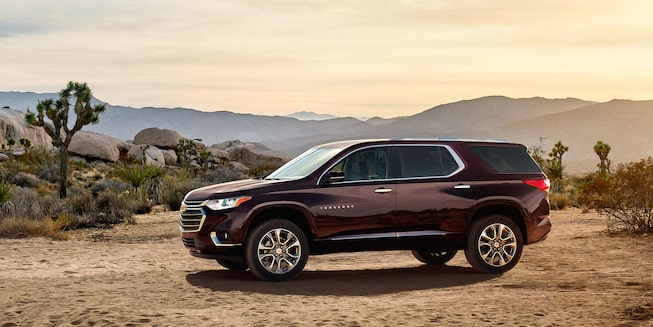 Chevrolet Traverse - Lateral de tu Crossover